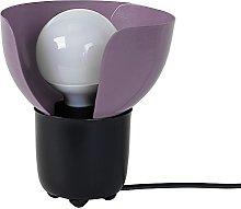 Tosel 64426Lotus Table Lamp Black/Powder-Coated