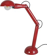 Tosel 90130Newton Wood Desk Lamp Solid Beech