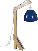 Tosel 90148Giraffe Wood Beech Desk Lamp
