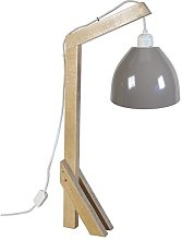 Tosel 90148 Giraffe Wood Beech Desk Lamp