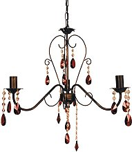Tosel E2272 Chandelier, Tube and Sheet Steel,
