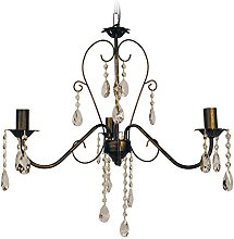 Tosel E2280 Chandelier, Tube and Sheet Steel,