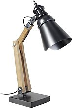 Tosel - Iron - Industrial Style Table Lamp -