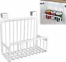 TOSSPER 1pc Kitchen Practical Cabinet Basket Steel