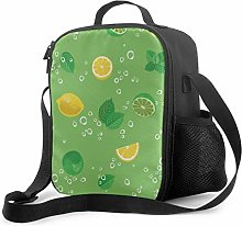 Totes Lunch Bag Cool Summer Beautiful Mint Potted