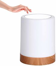 Touch Bedside Table Lamp, LED Mood Light, Dimmable