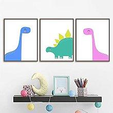 TougMoo Baby Boys Dinosaur Print Wall Poster