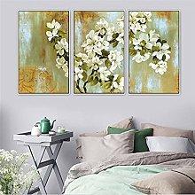 TougMoo Oil Painting Wall Print Art Flower Canvas