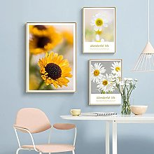 TougMoo Sunflower Poster And Canvas Print Wall Art