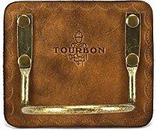 Tourbon Fixed Hammer Holder Lightweight Leather