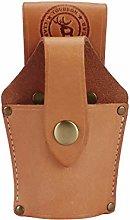 TOURBON Heavy Duty Leather Hammer Holder Pouch