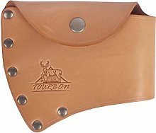 TOURBON Leather Single Bit Axe Head Holster