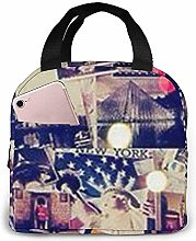 Touring Photos Lunch Bag Reusable Lunch Box Lunch