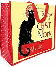 Tournee Chat Noir Black Cat Large Reuseable