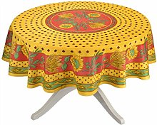 Tournesol Red/Yellow French Provencal Tablecloth -