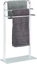 Towel Rack, Chromed Metal Towel Holder, HWD