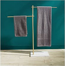 Towel Racks for Bathroom Freestanding, 2 Tiers