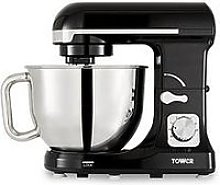 Tower 1000W Stand Mixer - Chrome