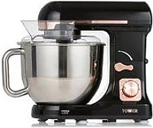 Tower 1000W Stand Mixer - Rose Gold