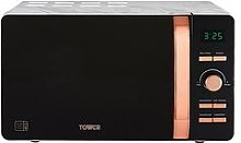 Tower 20L Digital Microwave - Marble Rose Gold