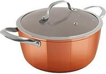 Tower 24Cm Copper Forged Casserole Pan