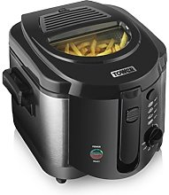 Tower 2L Small Deep Fat Fryer with Viewing Window,