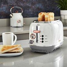 Tower Bottega 2 Slice Toaster - Marble