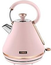 Tower Cavaletto 1.7L Pyramid Kettle - Pink