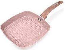Tower Cerastone Rose 25 Cm Forged Grill Pan