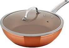 Tower Copper Forged 28 Cm Multi-Pan With Lid