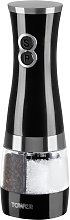 Tower Duo Salt and Pepper Mill - Black