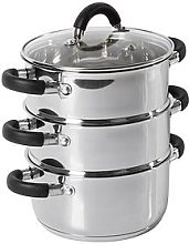 Tower Essentials 18Cm 3-Tier Steamer