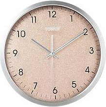 Tower Glitz Blush Wall Clock