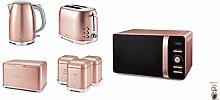 Tower Pink Glitz Kitchen Retro 20L 800W Digital