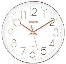 Tower Quartz Wall Clock