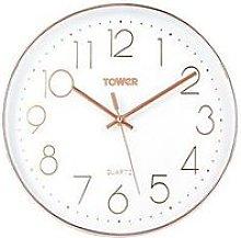 Tower Quartz Wall Clock