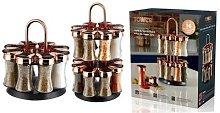 Tower Rotating Spice Rack: 8-Jar
