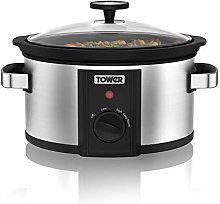 Tower T16010 Manual Slow Cooker, 2000 W, 3.5