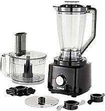 Tower T18007BLK Food Processor and Blender with 2L