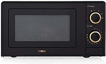 Tower T24029RG Manual Solo Microwave with 4 Power