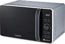 Tower T24031BLU Microwave, Ice Diamond Collection,
