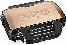 Tower T27013RG Deep Fill Sandwich Maker, Automatic
