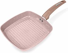 Tower T80336RS Cerastone Induction Grill Pan, Non