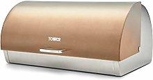 Tower T826070COP Ombre Bread Bin, Roll Top Bread