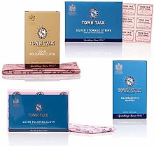 Town Talk Gold and Silver Polishing Kit for