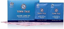 Town Talk Silver Cleaning Kit with Anti- Tarnish