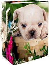 Toy Storage Baskets Bulldog Puppy Nursery Hamper