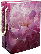 Toy Storage Baskets Pink Flower Nursery Hamper