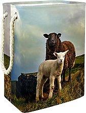 Toy Storage Baskets Sheep Nursery Hamper Kids
