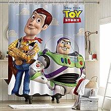 Toy Story Disney Pixar Movie Cloth Shower Curtain
